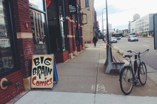 Awesome comic shop. Lot's of good stuff inside.